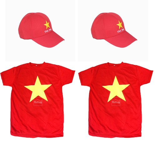 Combo 2 nón và 2 áo cờ đỏ sao vàng - 5825479 , 12316231 , 15_12316231 , 175000 , Combo-2-non-va-2-ao-co-do-sao-vang-15_12316231 , sendo.vn , Combo 2 nón và 2 áo cờ đỏ sao vàng