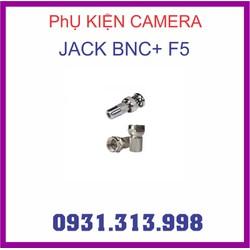 JACK BNC + F5 PHỤ KIỆN CAMERA