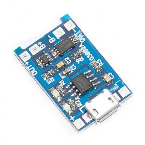 Mạch sạc pin 18650 lithium-ion TP4056 1A micro USB - 5824493 , 12314463 , 15_12314463 , 30000 , Mach-sac-pin-18650-lithium-ion-TP4056-1A-micro-USB-15_12314463 , sendo.vn , Mạch sạc pin 18650 lithium-ion TP4056 1A micro USB