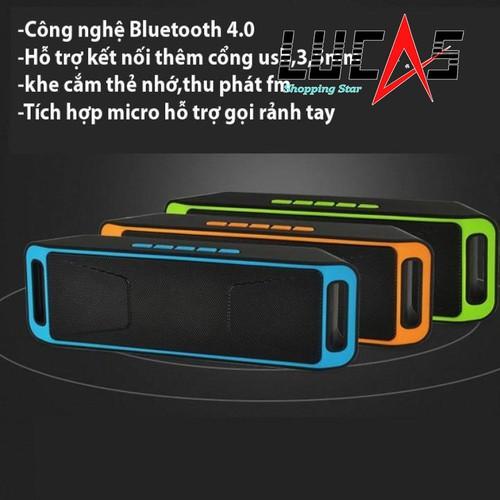 Loa di động Bluetooth SC208 - 4509866 , 12303132 , 15_12303132 , 180000 , Loa-di-dong-Bluetooth-SC208-15_12303132 , sendo.vn , Loa di động Bluetooth SC208