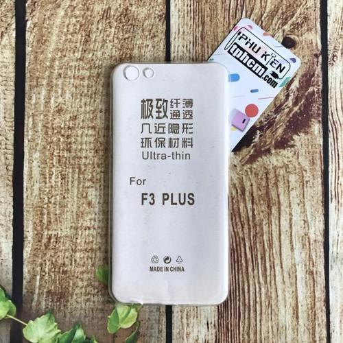 Ốp lưng Oppo R9s Plus - F3 Plus dẻo trong giá rẻ