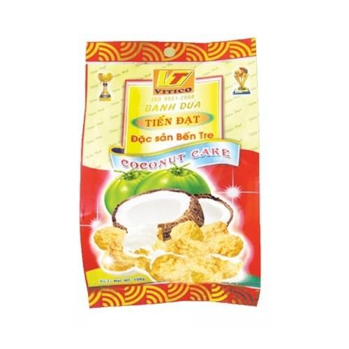 Bánh hoa dừa Tiến Đạt gói 150g