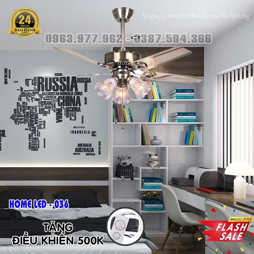 Quạt trần đèn hiện đại HOME-036 + Tặng kèm bộ điều khiển hiện đại 500K - 5818767 , 12306033 , 15_12306033 , 2600000 , Quat-tran-den-hien-dai-HOME-036-Tang-kem-bo-dieu-khien-hien-dai-500K-15_12306033 , sendo.vn , Quạt trần đèn hiện đại HOME-036 + Tặng kèm bộ điều khiển hiện đại 500K