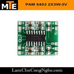 Module khuếch đại âm thanh PAM 8403 6W Hifi Mạch chế loa mini 6W