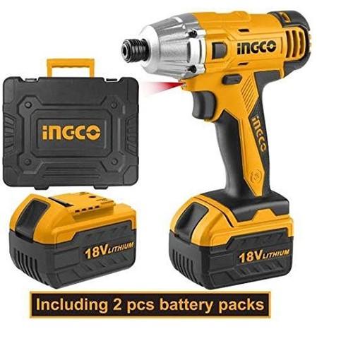 Máy siết vít dùng dùng pin 18V Lithium ingco CIDLI228181
