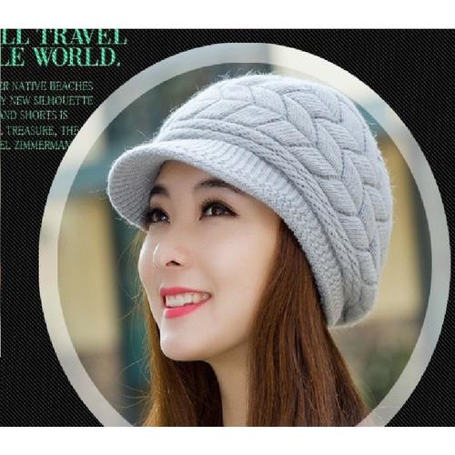 mũ len mũ vành mũ mùa đông