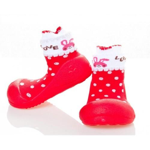 Giày tập đi Attipas LOVE RED - AL01, Hàn Quốc