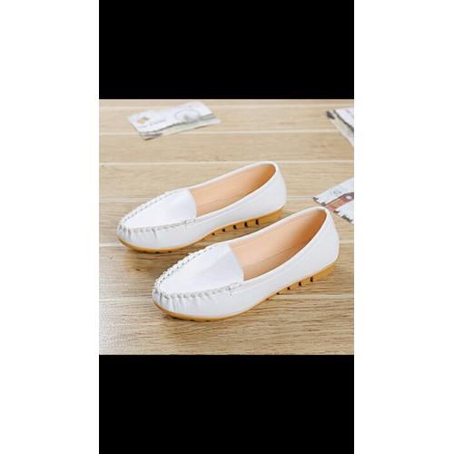 Giày Lười Da Xinh