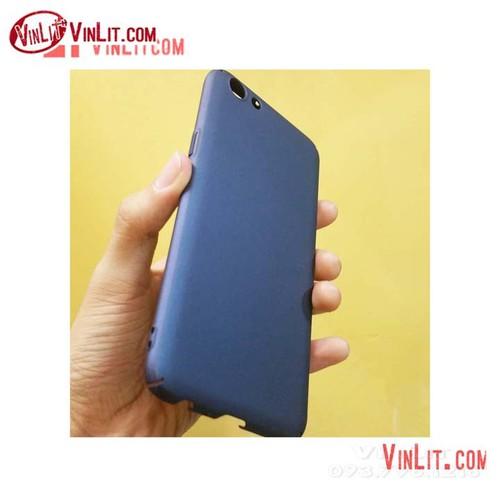 Ốp lưng Oppo F3 Oppo A77 cứng màu xanh đen