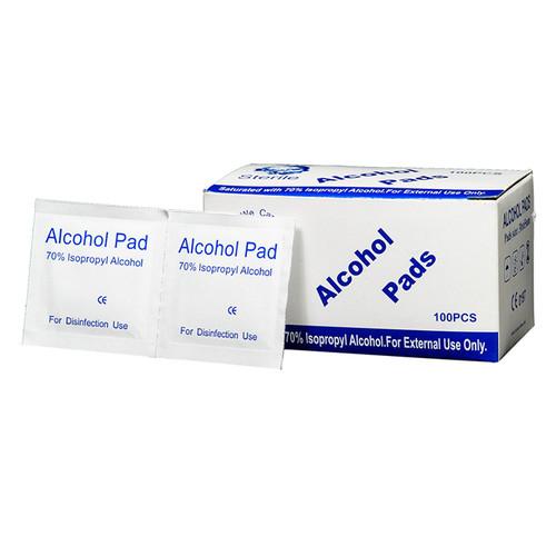 Bông tẩm cồn Alcohol Pads 100 miếng