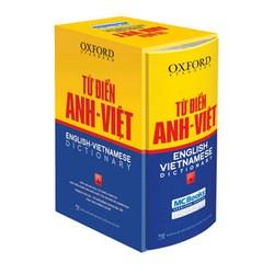 Từ điển Oxford Anh Việt-bìa cứng vàng