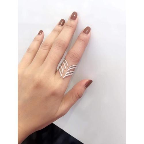 Nhẫn nữ kiểu dáng sang trọng N008