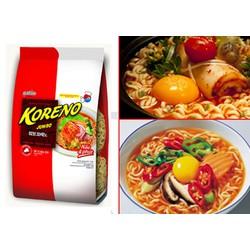 Mì Koreno Jumbo 1Kg vị Kim Chi chua cay