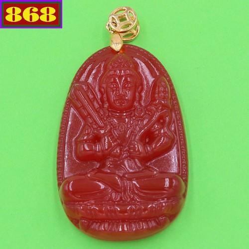 Vòng cổ Hư Không Tạng Bồ Tát thạch anh đỏ 5 cm DEDN6 - 5837804 , 12336307 , 15_12336307 , 260000 , Vong-co-Hu-Khong-Tang-Bo-Tat-thach-anh-do-5-cm-DEDN6-15_12336307 , sendo.vn , Vòng cổ Hư Không Tạng Bồ Tát thạch anh đỏ 5 cm DEDN6
