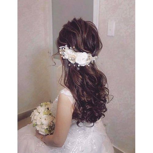 Cài tóc cô dâu PF0077BW06 - 5832452 , 12328294 , 15_12328294 , 220000 , Cai-toc-co-dau-PF0077BW06-15_12328294 , sendo.vn , Cài tóc cô dâu PF0077BW06