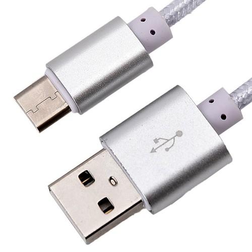 Cáp sạc nhanh chuẩn micro USB dây dù 2m siêu bền