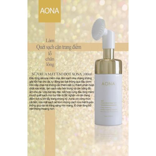 Sửa rửa mặt tẩy trang AONA.
