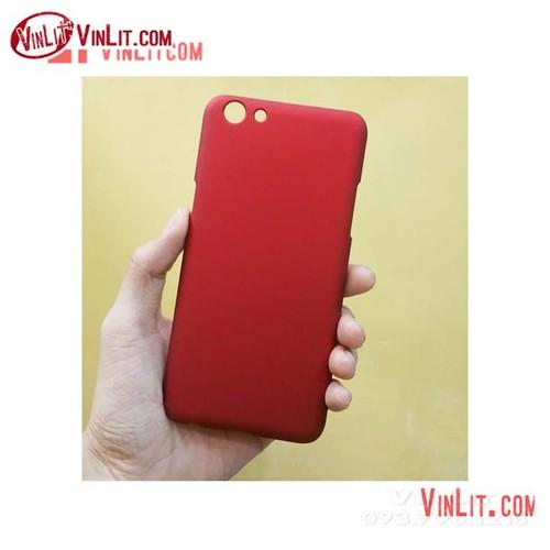 Ốp lưng Oppo F3 Oppo A77 cứng màu đỏ