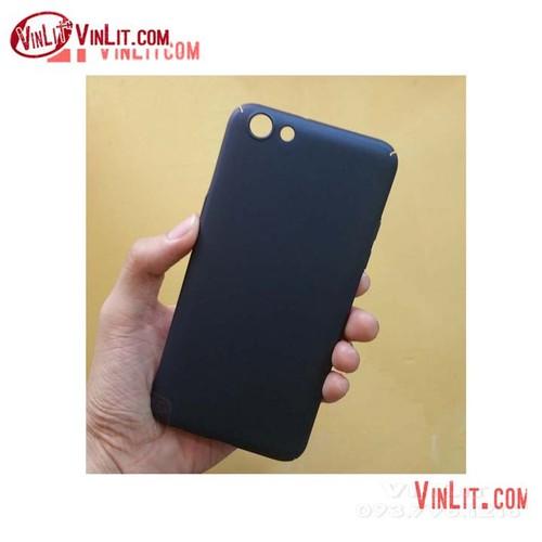 Ốp lưng Oppo F3 Oppo A77 cứng màu đen mờ