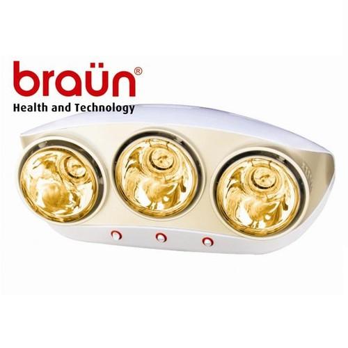 Đèn Sưởi Nhà Tắm Braun Kohn KU03G, Chính Hãng