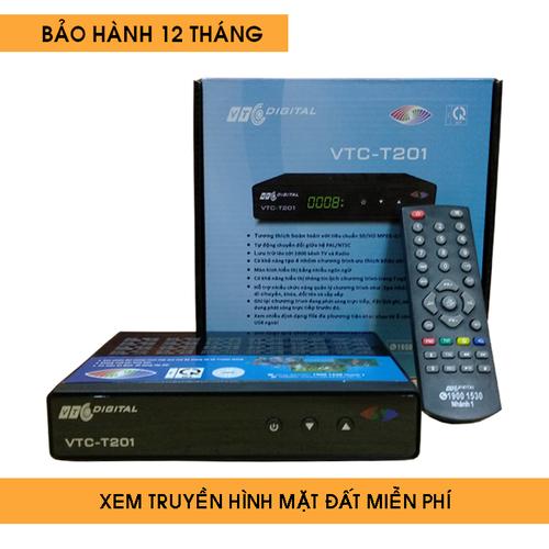 Đầu thu truyền hình DVB T2 VTC T201 - T201C1