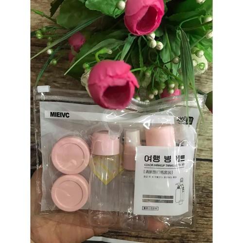 Bộ chiết mỹ phẩm 7 món mini Hàn Quốc - 5831546 , 12327037 , 15_12327037 , 35000 , Bo-chiet-my-pham-7-mon-mini-Han-Quoc-15_12327037 , sendo.vn , Bộ chiết mỹ phẩm 7 món mini Hàn Quốc
