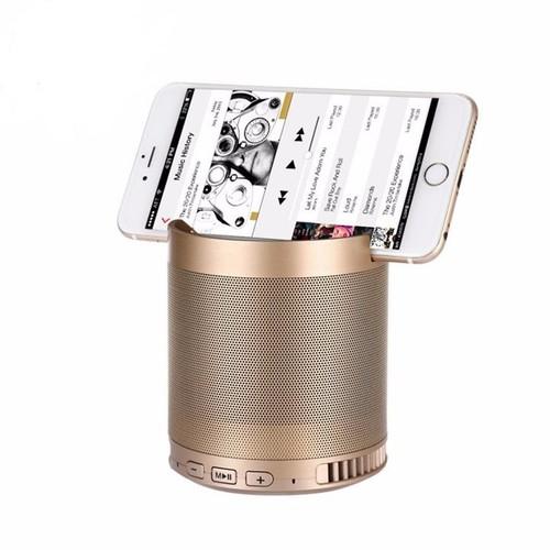 Loa bluetooth HF-Q3 Loại Lớn kiêm giá đỡ điện thoại