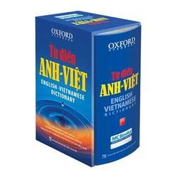 Từ điển Oxford Anh Việt-bìa cứng xanh