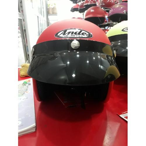Mũ bảo hiểm Andes trơn nhám - 5851851 , 12356032 , 15_12356032 , 575000 , Mu-bao-hiem-Andes-tron-nham-15_12356032 , sendo.vn , Mũ bảo hiểm Andes trơn nhám