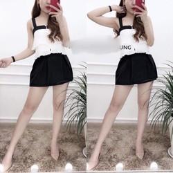 Sét bộ áo và chân váy ngắn B176