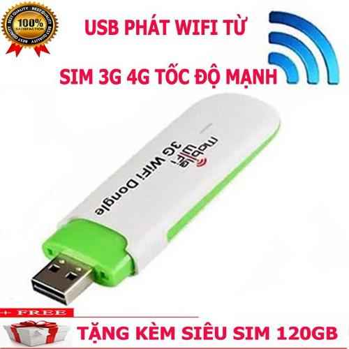 USB phát wifi HSPA siêu tốc- tặng sim 4G Viettel Data khủng