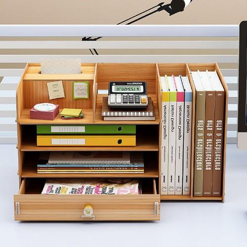 Kệ sách gỗ để trên bàn làm việc - 5851903 , 12356146 , 15_12356146 , 489000 , Ke-sach-go-de-tren-ban-lam-viec-15_12356146 , sendo.vn , Kệ sách gỗ để trên bàn làm việc