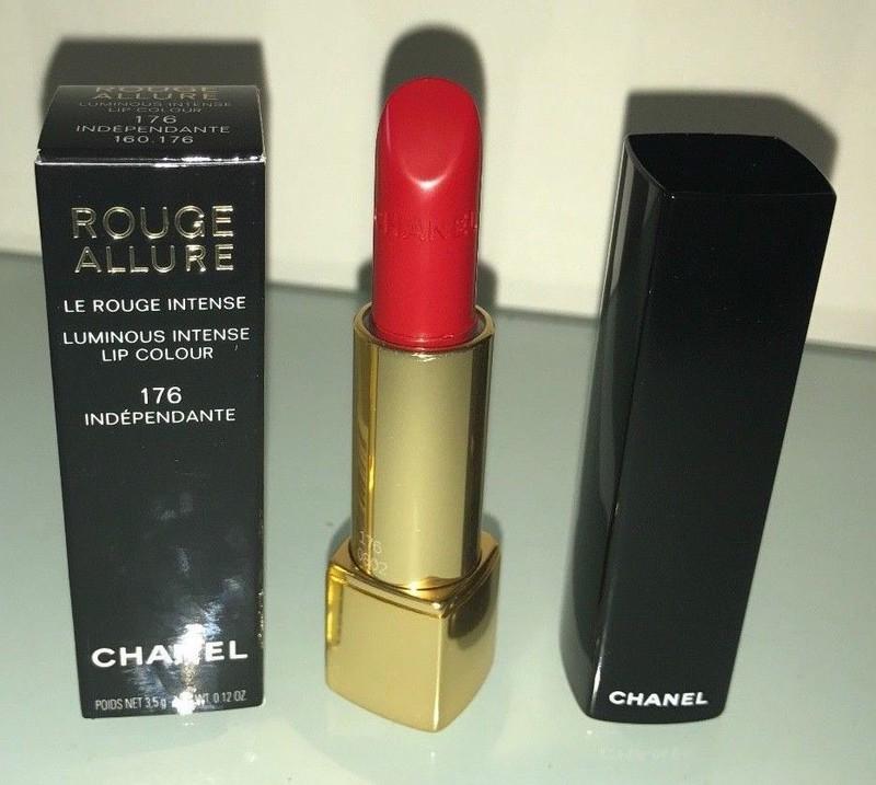 Son Chanel Rouge Allure màu 176 Independante Màu đỏ cam