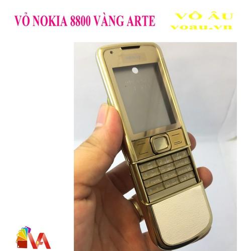 VỎ NOKIA 8800 VÀNG ARTE ZIN