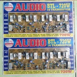mạch công  suất 16 sò BTL