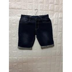 Quần shorts jeans thời trang trơn vãi dầy đẹp size 28 đến 34 JT53