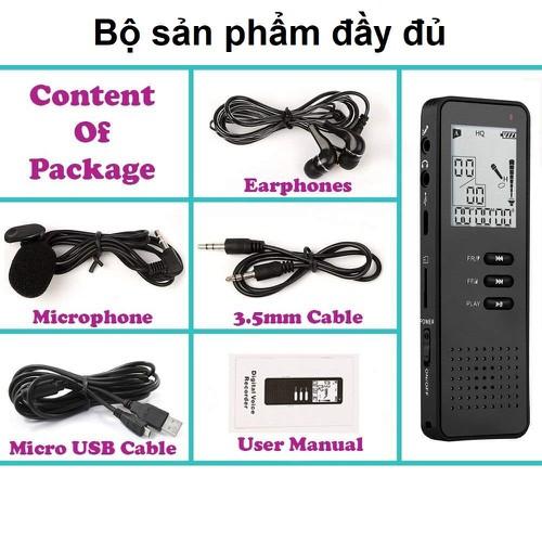 Máy ghi âm Chuyên dụng cao cấp T30 Tặng kèm thẻ nhớ SDHC 8GB - 5850520 , 12354141 , 15_12354141 , 1000000 , May-ghi-am-Chuyen-dung-cao-cap-T30-Tang-kem-the-nho-SDHC-8GB-15_12354141 , sendo.vn , Máy ghi âm Chuyên dụng cao cấp T30 Tặng kèm thẻ nhớ SDHC 8GB