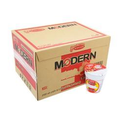 Thùng mì ly Modern Lẩu thái tôm 24 ly
