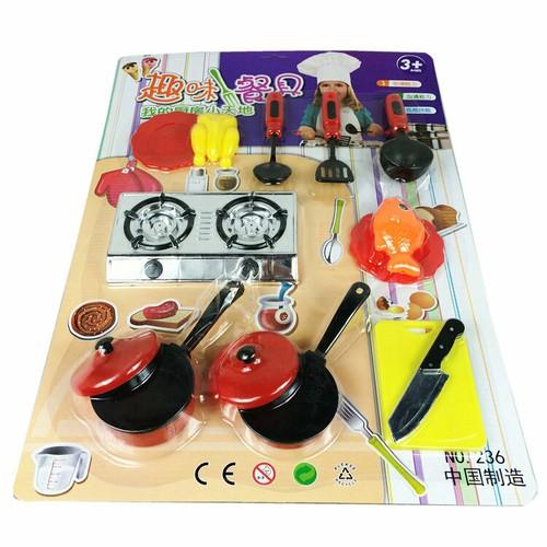 bộ đồ chơi nấu ăn nhà bếp cho bé