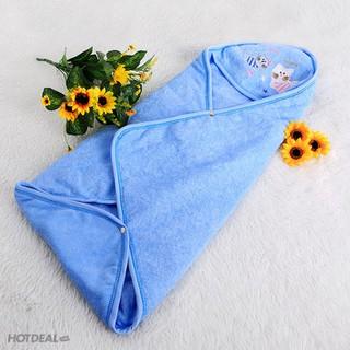 Khăn ủ bé sơ sinh 3 lớp vải mềm
