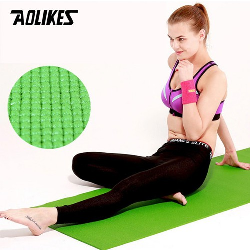 Thảm tập Yoga chất liệu PVC cao cấp chính hãng Aolikes-size lớn