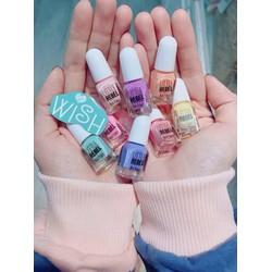 sơn móng tay Pháp an toàn cho bé set 12 màu