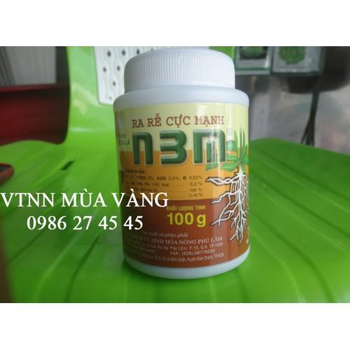 Thuốc kích thích ra rễ cực mạnh N3M hiệu quả nhất 100g