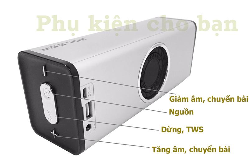 Loa Bluetooth Bass âm Thanh Sống Động chuẩn HIFI PKCB H5 3 trong 1 5