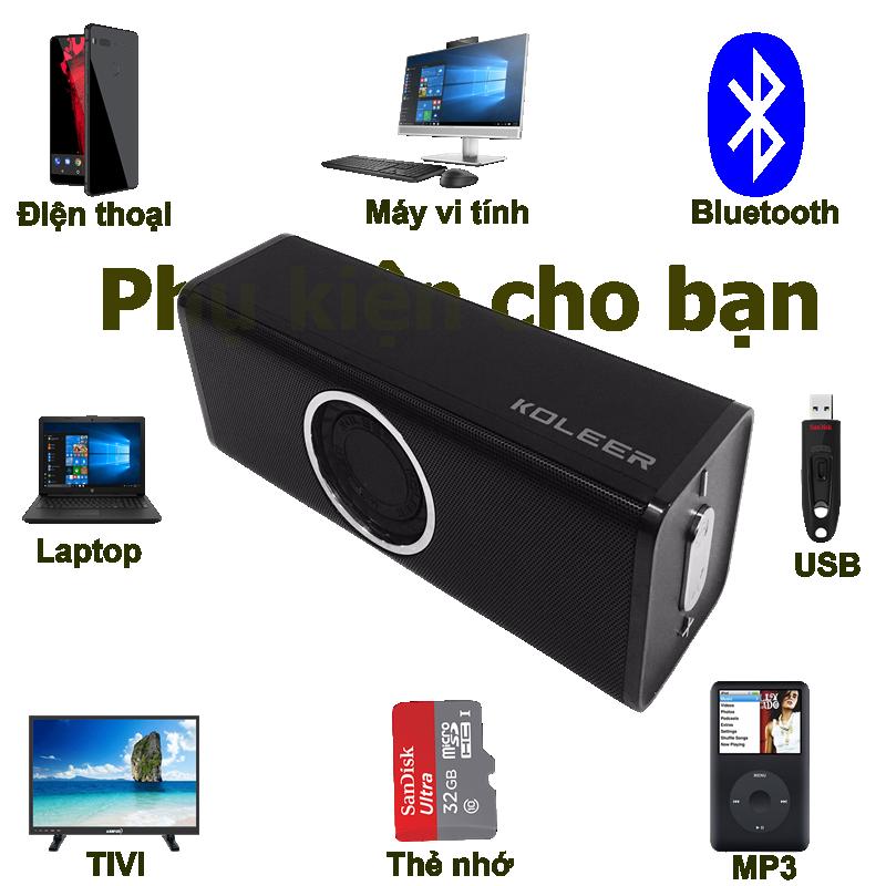 Loa Bluetooth Bass âm Thanh Sống Động chuẩn HIFI PKCB H5 3 trong 1 3