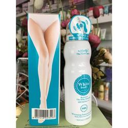 [ SIÊU SALE][ hỗ trợ PVC 30k]Xịt dưỡng trắng White Body The New Skin giá 69k