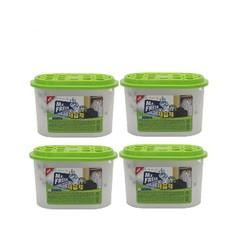 Bộ 4 Bình hút ẩm than hoạt tính khử khuẩn Mr Fresh Hàn Quốc 256g