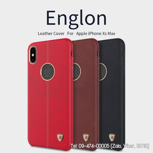 Ốp lưng iPhone XS Max Nillkin Englon da mềm - 5853419 , 12357822 , 15_12357822 , 250000 , Op-lung-iPhone-XS-Max-Nillkin-Englon-da-mem-15_12357822 , sendo.vn , Ốp lưng iPhone XS Max Nillkin Englon da mềm