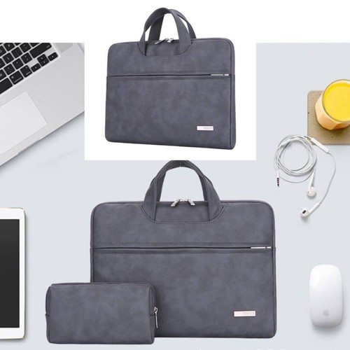 Túi xách da chống sốc cho macbook, laptop kèm ví đựng phụ kiện - 4443025 , 12355106 , 15_12355106 , 450000 , Tui-xach-da-chong-soc-cho-macbook-laptop-kem-vi-dung-phu-kien-15_12355106 , sendo.vn , Túi xách da chống sốc cho macbook, laptop kèm ví đựng phụ kiện