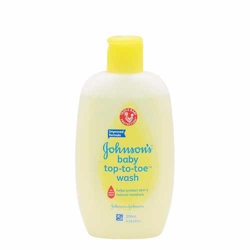 Sữa tắm gội toàn thân Johns Baby Top To Toe 200ml